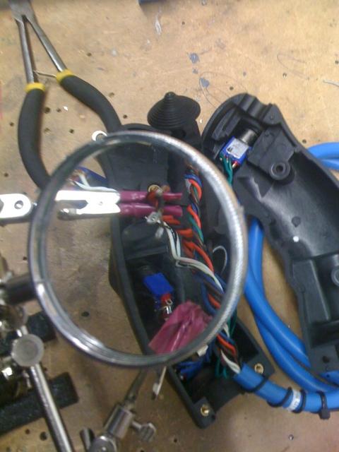 stick grip soldering