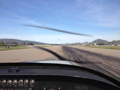 Takeoff Roll SLO 2