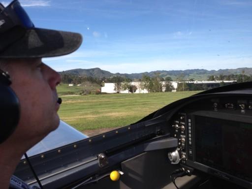 Departing Rwy 29 takeoff roll